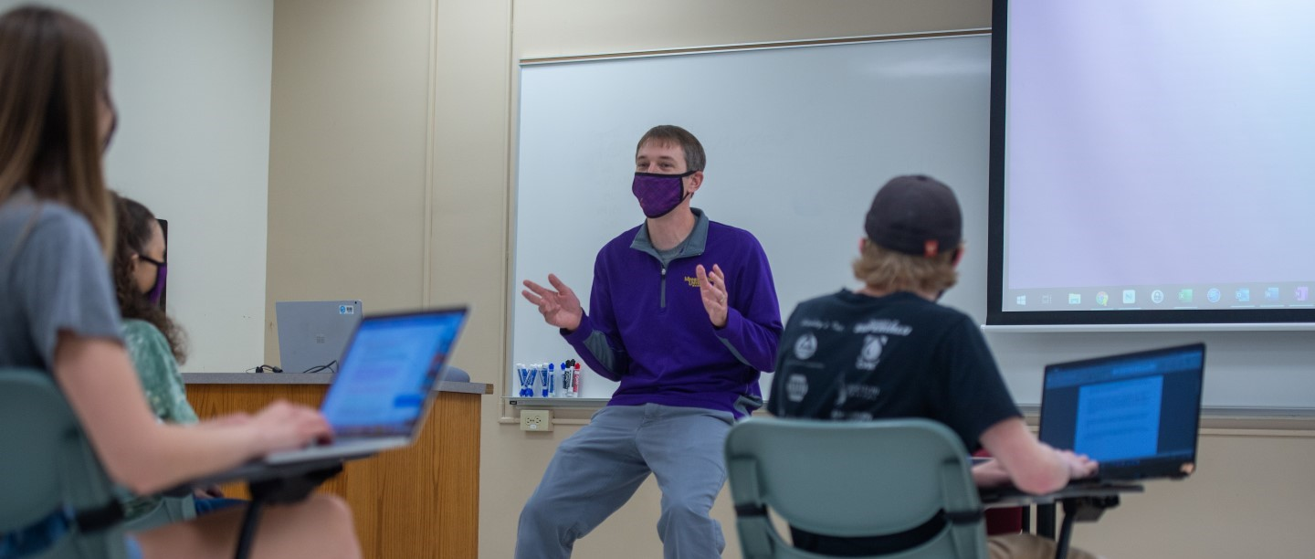 Classroom with Masks