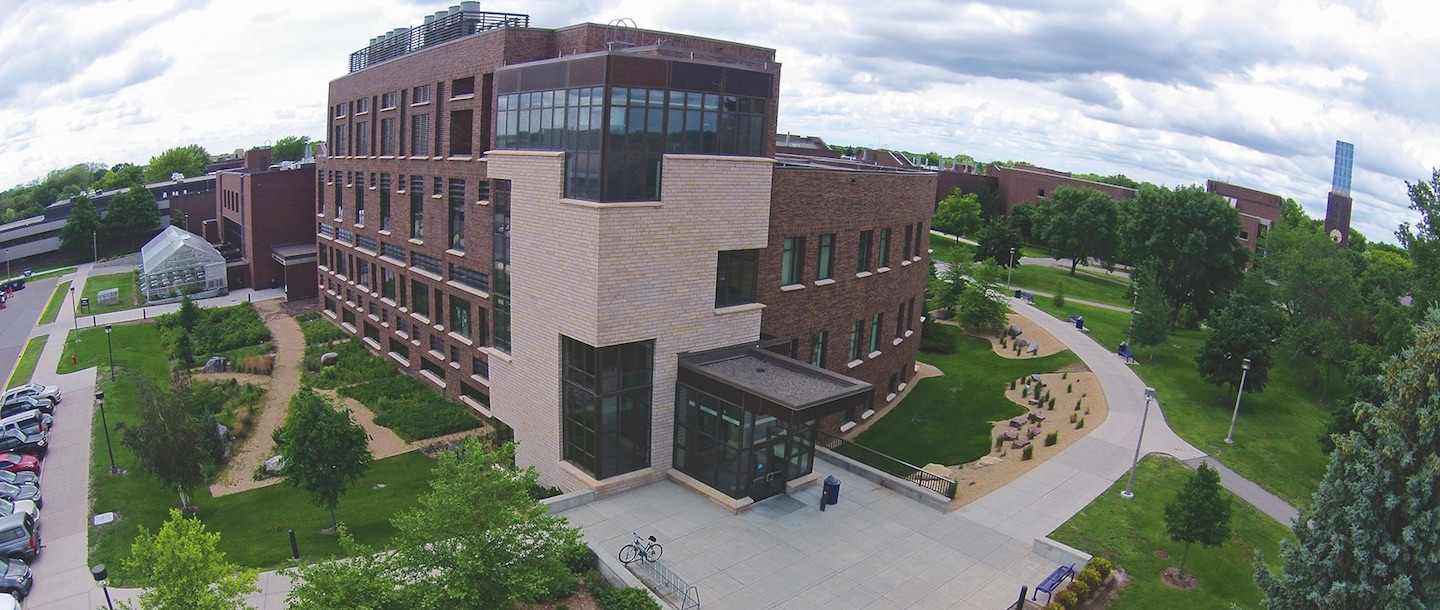 Ford Hall Drone View